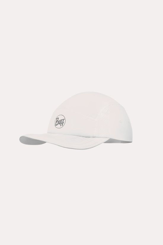 Buff Run Cap R-Solid White Pet Wit