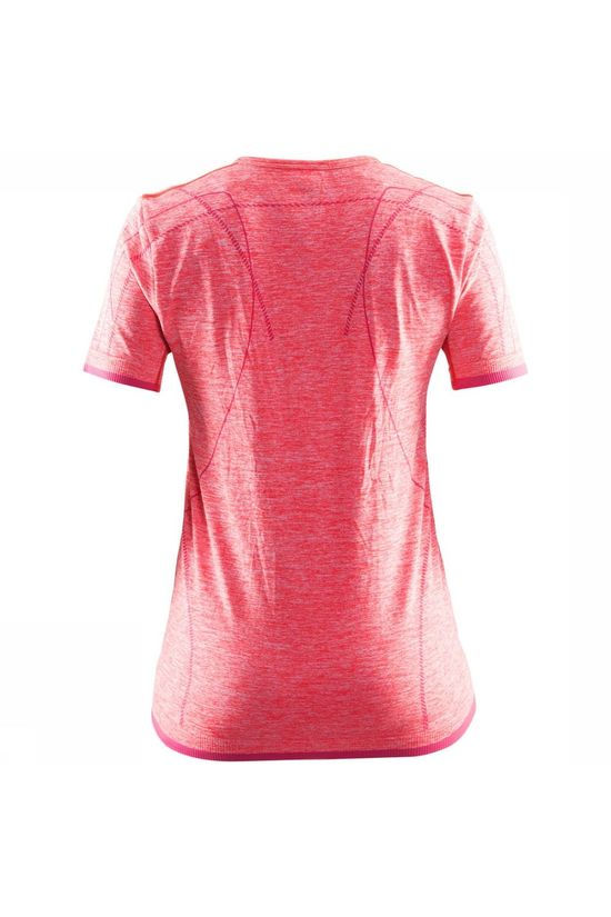 Craft Active Comfort RN Shirt Dames Donkerroze