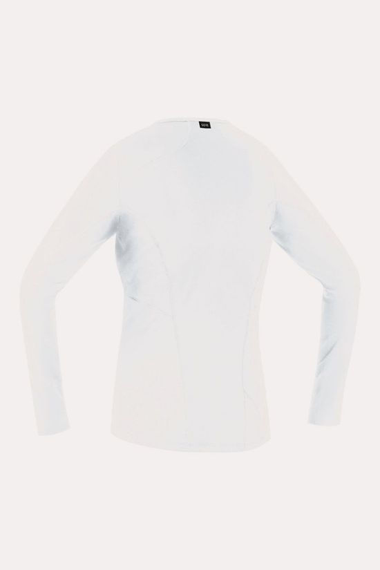 Gore Wear Gore Wear M BL Thermo Long Sleeve Shirt Dames Wit