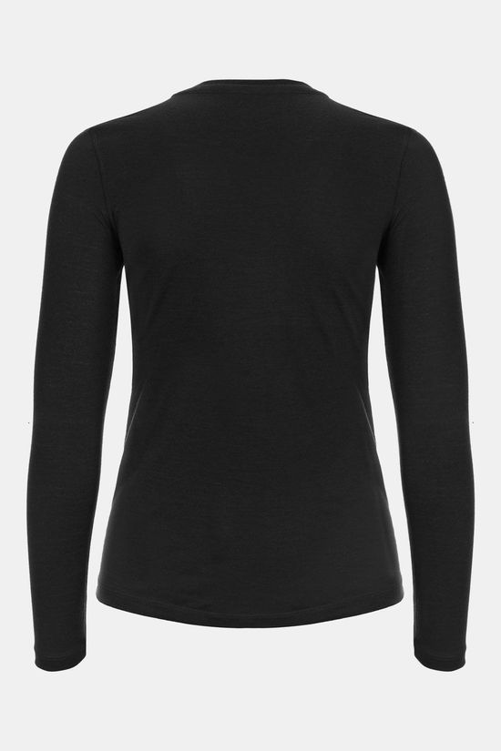 Supernatural Base LS 175 Thermoshirt Dames Donkergrijs