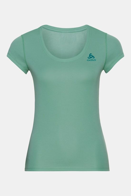 Odlo Active F-Dry Light Shirt Dames Middengroen