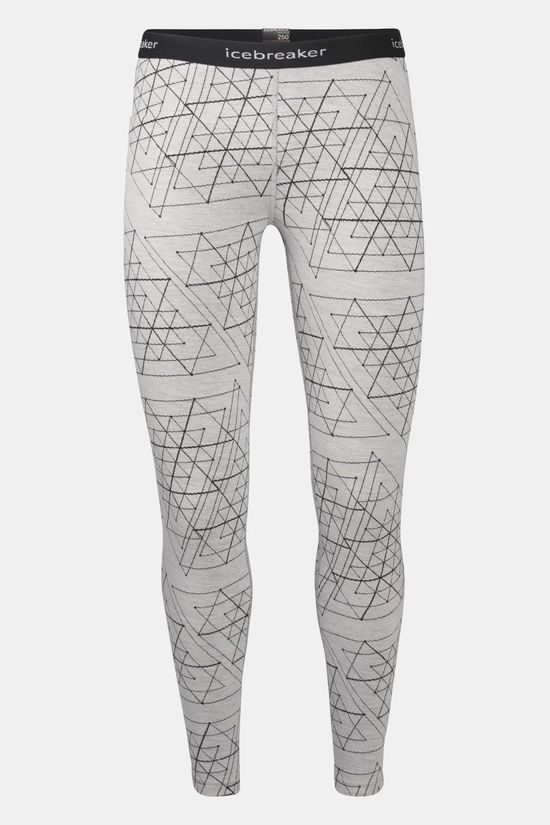 Icebreaker 250 Vertex Structure Legging Dames Wit