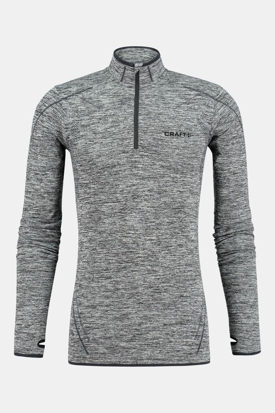 Craft Active Comfort Zip Thermoshirt Zwart