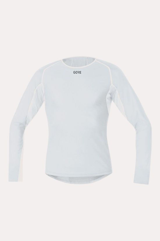 Gore Wear Gore Wear M GWS BL Thermo Long Sleeve Shirt Lichtgrijs/Wit