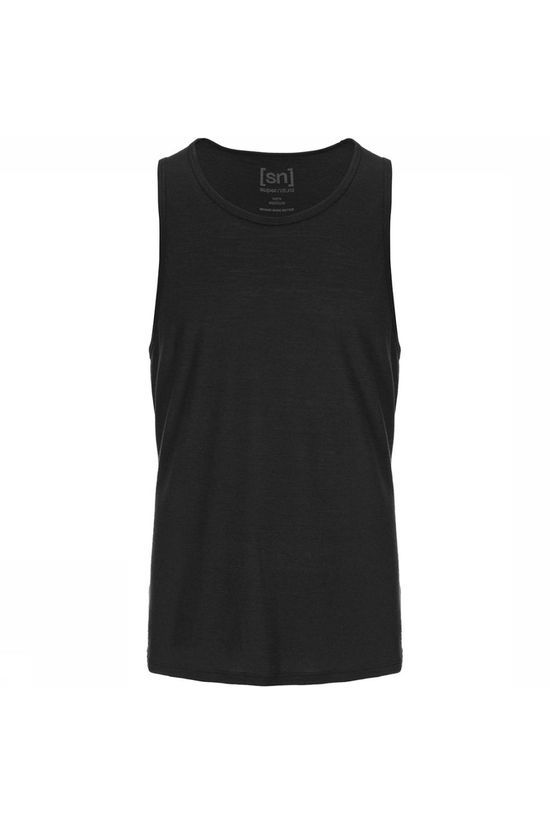 Supernatural Base 140 Tanktop Zwart