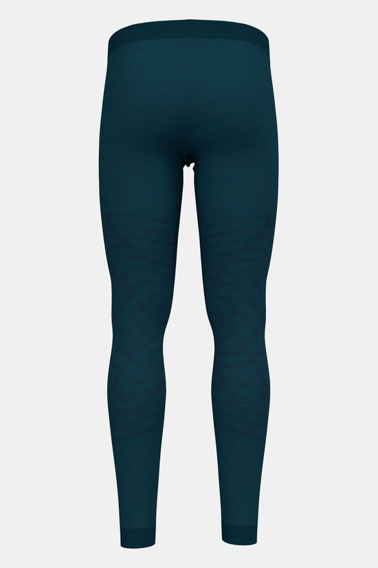 Odlo Natural + Kinship Warm Legging Petrol