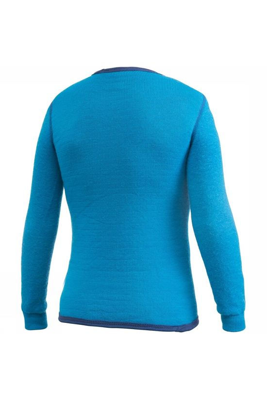 Woolpower Crewneck 200 Baselayer Shirt Junior Lichtblauw