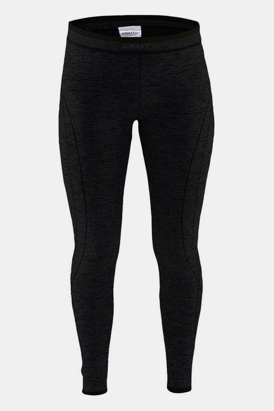 Craft Active Comfort Legging Junior Zwart/Donkergrijs