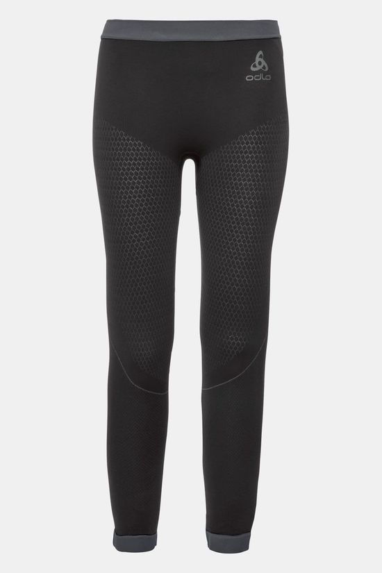 Odlo Performance Warm Legging Junior Zwart/Donkergrijs