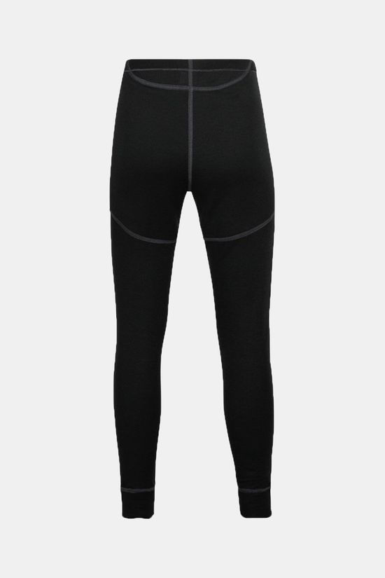 Odlo Bl Bottom Long Active X-Warm Eco Kids Zwart