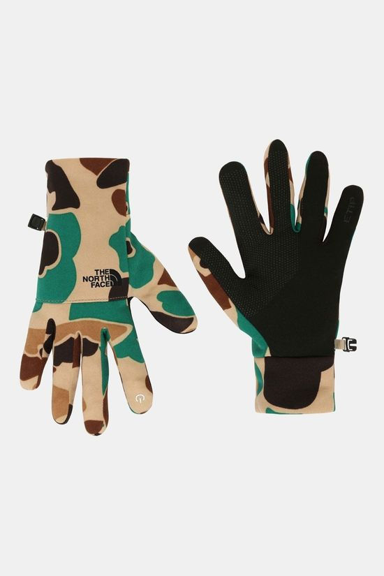 The North Face Etip Recycled Handschoenen Middenkaki/Ass. Camouflage