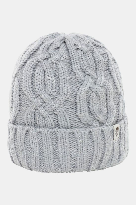 The North Face Minna Beanie Lichtgrijs Mengeling