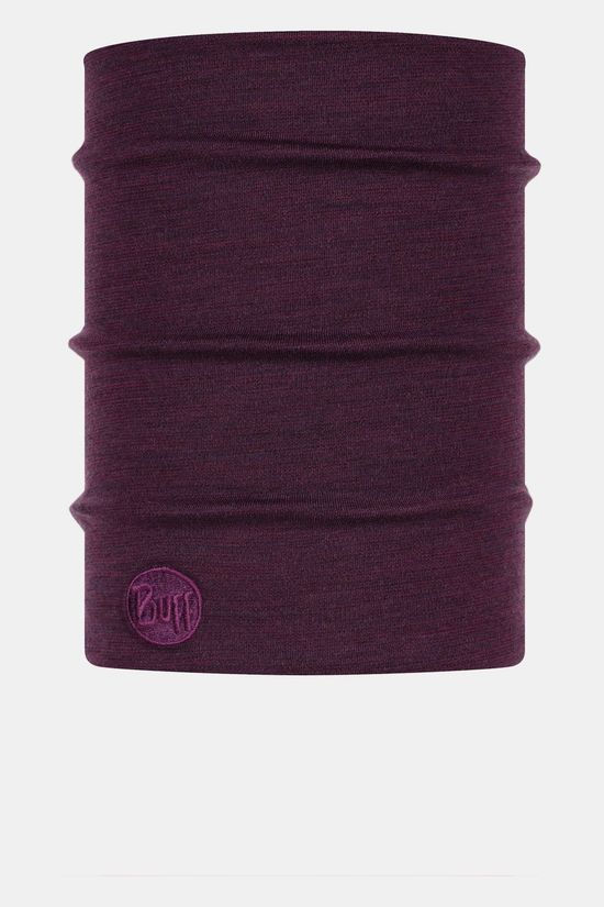 Buff Heavyweight Merino Wool Buff Solid Multi Stripes Dames Donkerpaars
