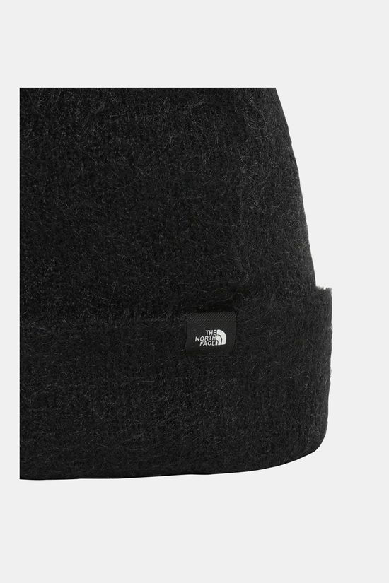 The North Face Plush Beanie Dames Zwart