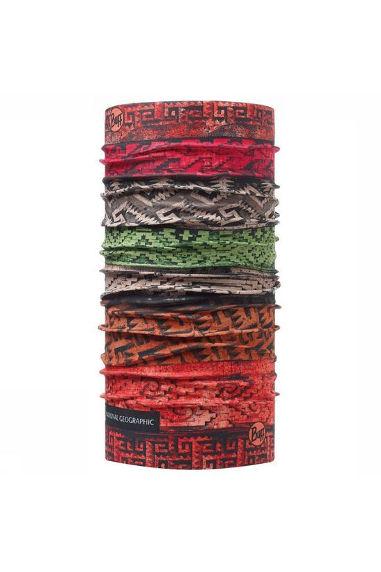 Buff National Geographic Mitla Buff Rood/Assortiment