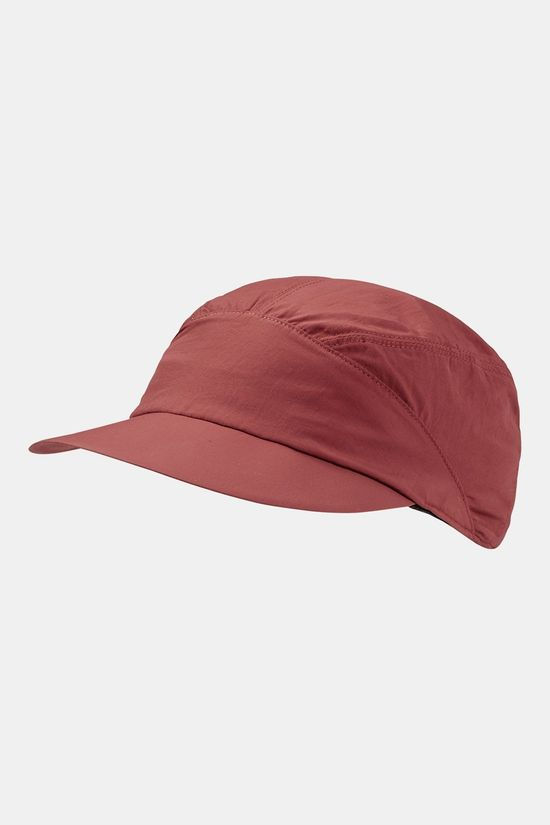 Jack Wolfskin Supplex Kalahari Cap Dames Donkerrood/Koper