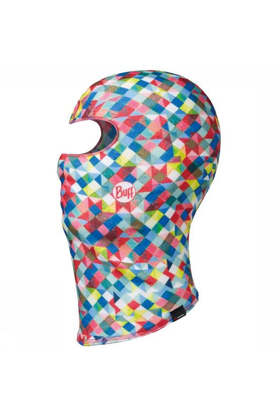 Buff Polar Junior & Child Pierrot Multi White Balaclava Junior Wit/Assortiment
