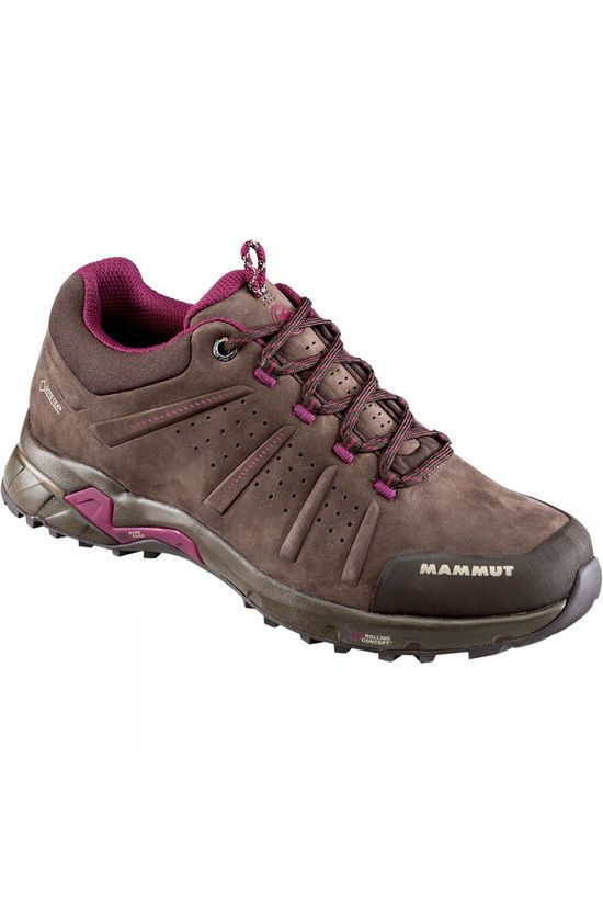 Mammut Convey Low GTX Schoen Dames Middenbruin