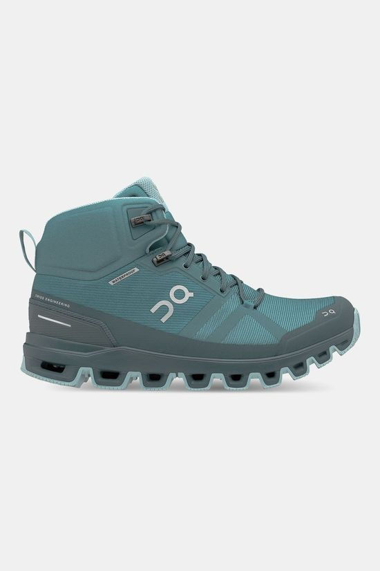 On Running Cloudrock Waterproof Wandelschoenen Dames Blauw