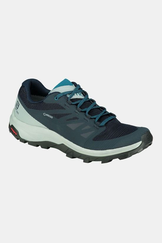 Salomon Outline GTX Schoen Marineblauw/Middenblauw