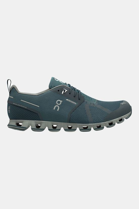 On Running Cloud Waterproof Schoen Middenblauw/Middengrijs