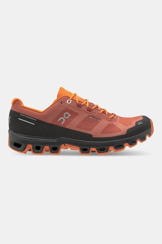 On Running Cloudventure Waterproof Trail Schoen Roest/Oranje