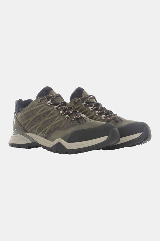 The North Face Hedgehog Hike II Waterproof Wandelschoenen Donkerkaki/Zwart