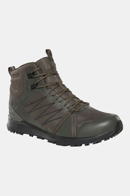 The North Face Litewave Fastpack II Mid GTX Schoen Taupe/Zwart