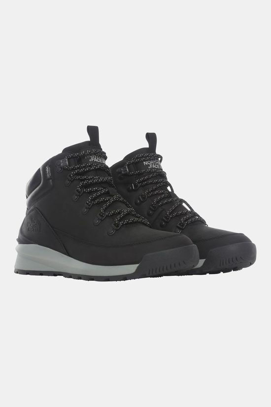 The North Face Back-To-Berkeley Mid Waterproof Schoen Zwart/Donkergrijs