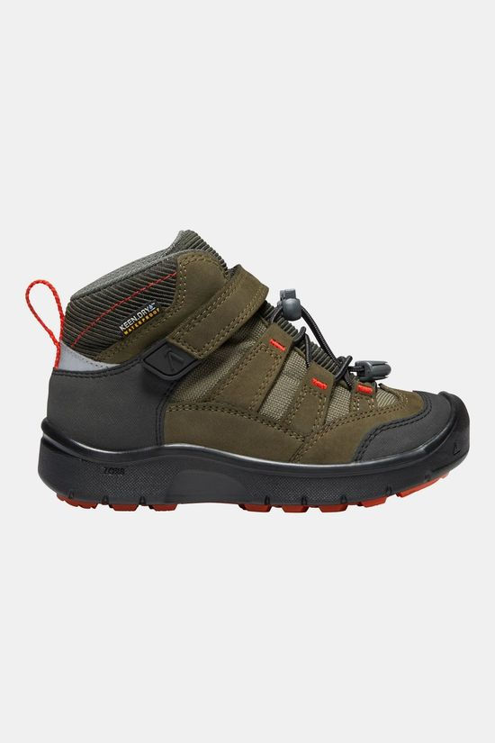 Keen Hikeport Mid WP Schoen Junior Middenbruin/Oranje