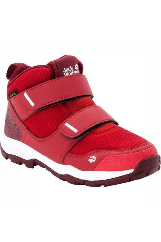 Jack Wolfskin MTN Attack 3 Texapore MID VC Wandelschoenen Junior Rood/Donkerrood