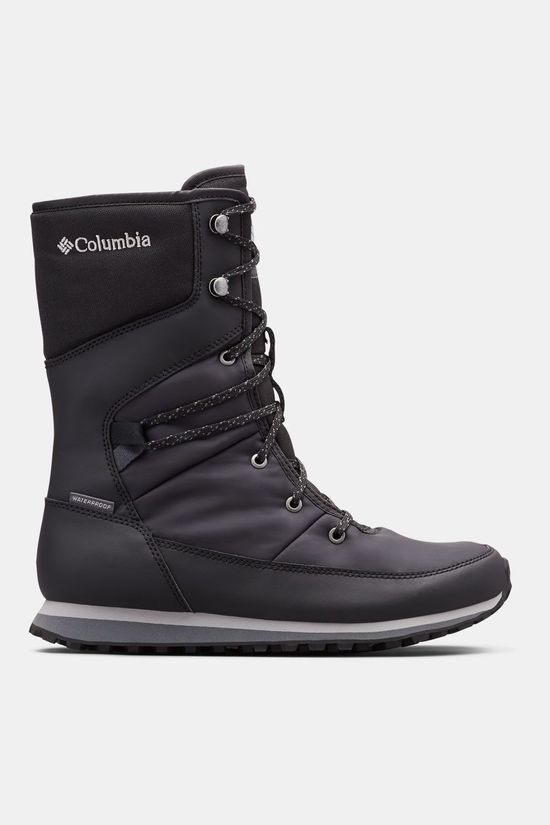 Columbia Wheatleigh Mid Winterlaars Dames Zwart