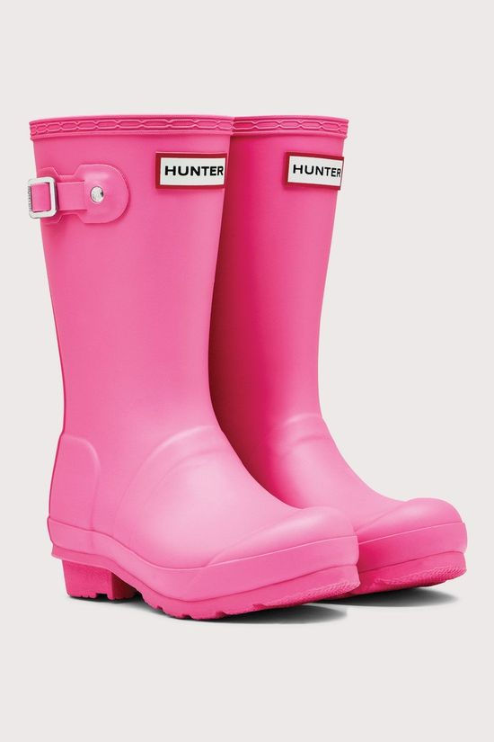 Hunter Original Regenlaars Junior Fuchsia
