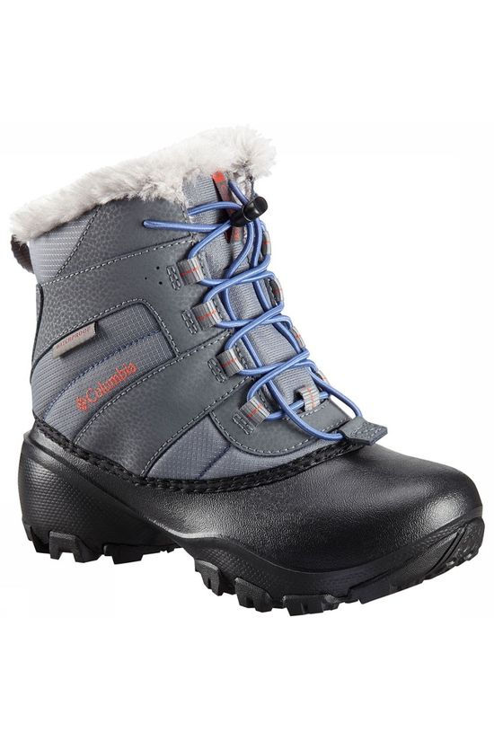 Columbia Rope Tow III Waterproof Laars Junior Middengrijs/Oranje