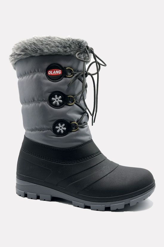 Olang Patty Snowboot Dames Donkergrijs