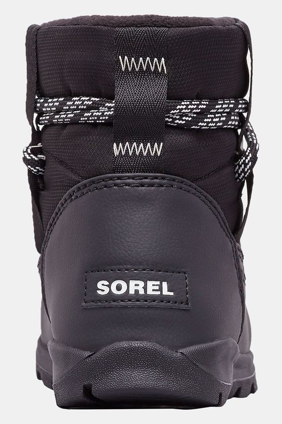 Sorel Whitney Short Winterschoen Dames Zwart