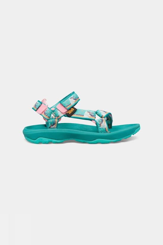 Teva Hurricane XLT Toddlers Sandaal Junior Turkoois/Zalmroze