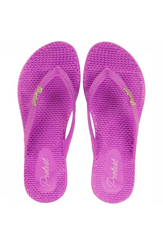 Protest Stamp Slipper Dames Violet