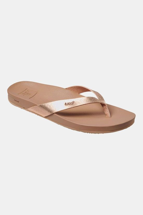 Reef Cushion Bounce Court Slipper Dames  Taupe