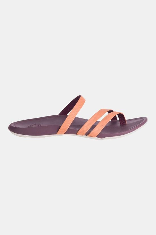 Chaco Lost Coast Web Slipper Dames Oranje/Aubergine