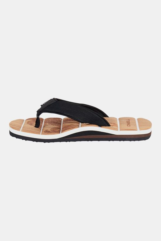 O'Neill Arch Freebeach Slipper Beige/Zwart