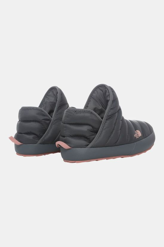 The North Face Thermoball Traction Bootie Pantoffel Dames Middengrijs/Lichtroze