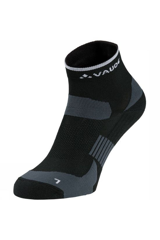Vaude Bike Socks Short Sok Zwart