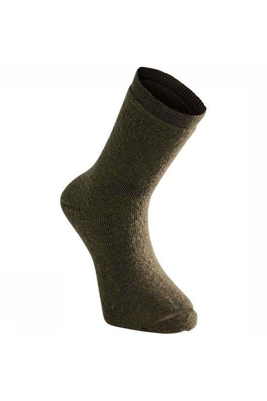 Woolpower Socks 400 Everyday Warm Sok Donkergroen
