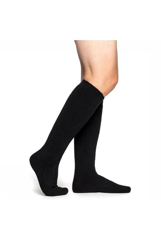 Woolpower Socks Knee-high 600 Kniekousen Zwart