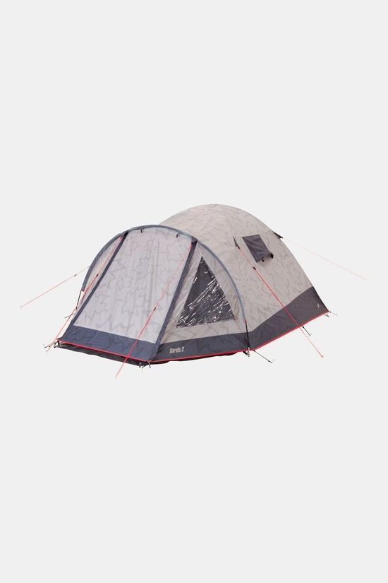 Bo-Camp Leevz Birch 2p Tent Middengrijs