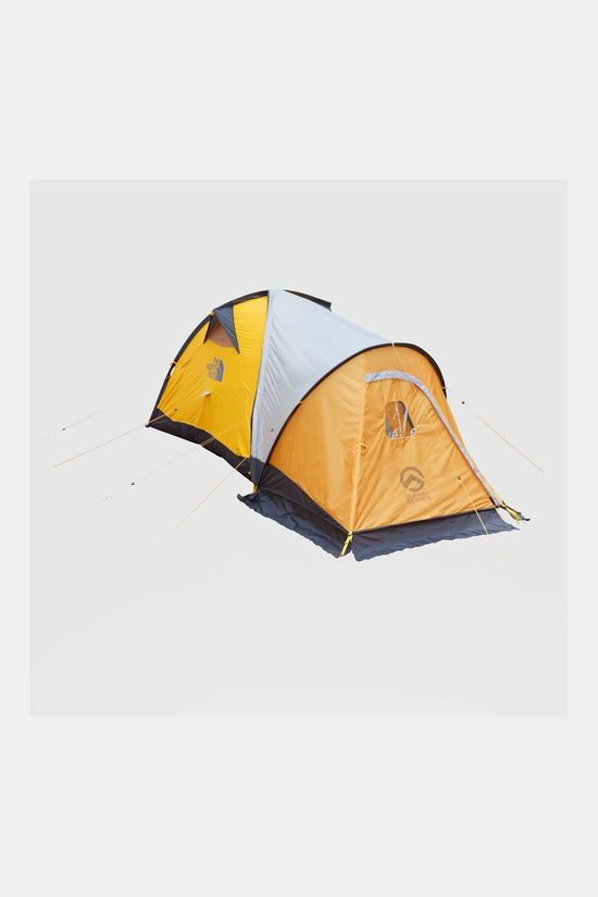 The North Face Assault 2P Koepeltent Geel/Zwart
