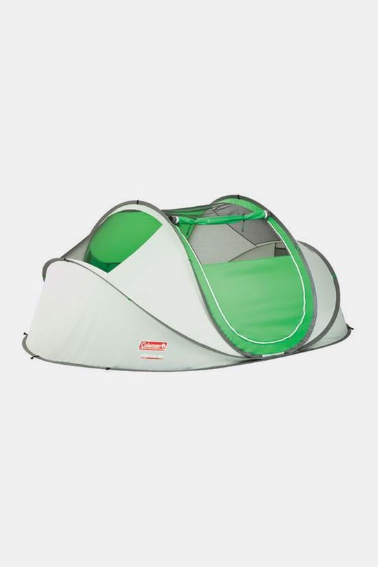 Coleman Galiano 4P Pop-up tent Wit/Groen