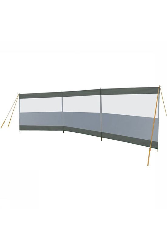 Bo-Camp Season Window 3-Vaks 5 X 1,4 M Windscherm Middengrijs