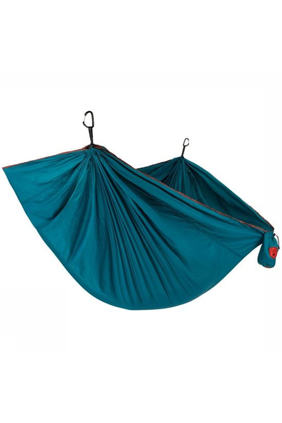 Grand Trunk Trunk Tech Double Hammock Hangmat Petrol/Donkerbruin